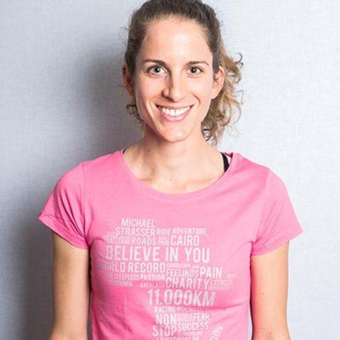 cairo2cape shirt wordrap rosa