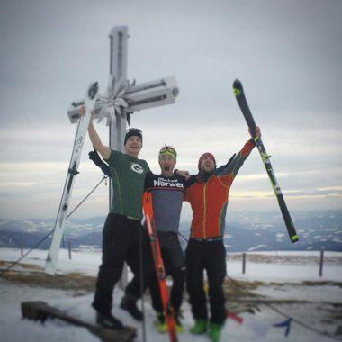 Everesting mit Ski