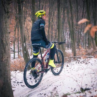 Michael Strasser beim Wintertraining